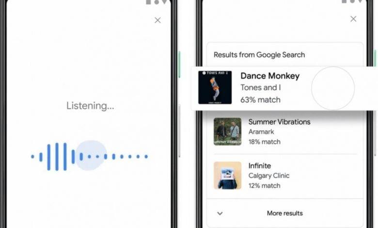 Podrás buscar canciones en Google solo con tararear