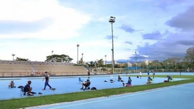 Se reabrió la pista de patinaje de la Villa Olímpica