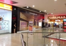 Cartelera de cine en Montería