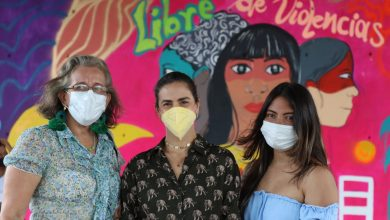 Fue presentado el mural 'Montería libre de violencia'