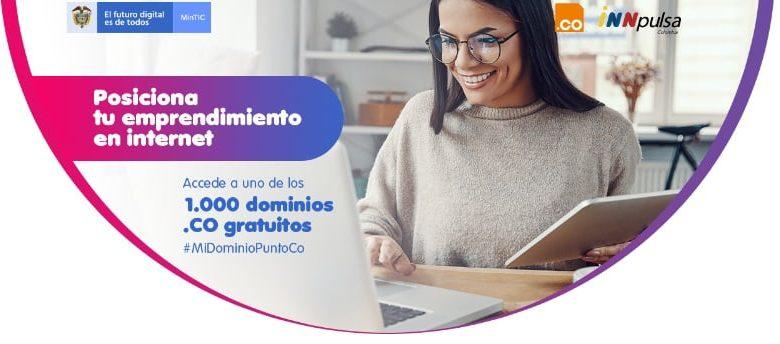 Gobierno lanzó 1.000 dominios .CO para emprendedores