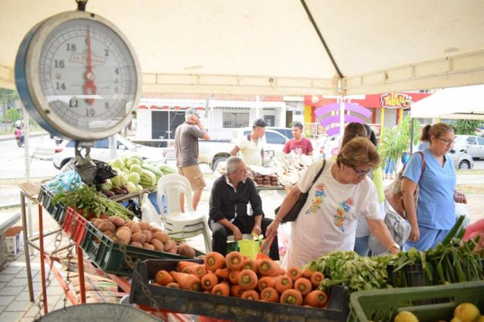 Participa del primer Mercado Campesino
