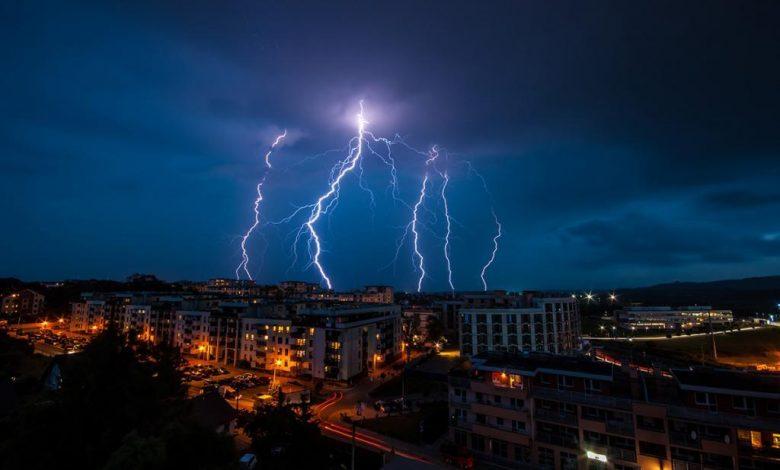 Recomendaciones para protegerse durante una tormenta eléctrica