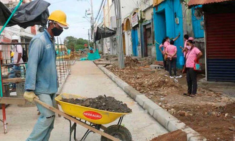 SETP de Montería avanza en la ejecución de obras