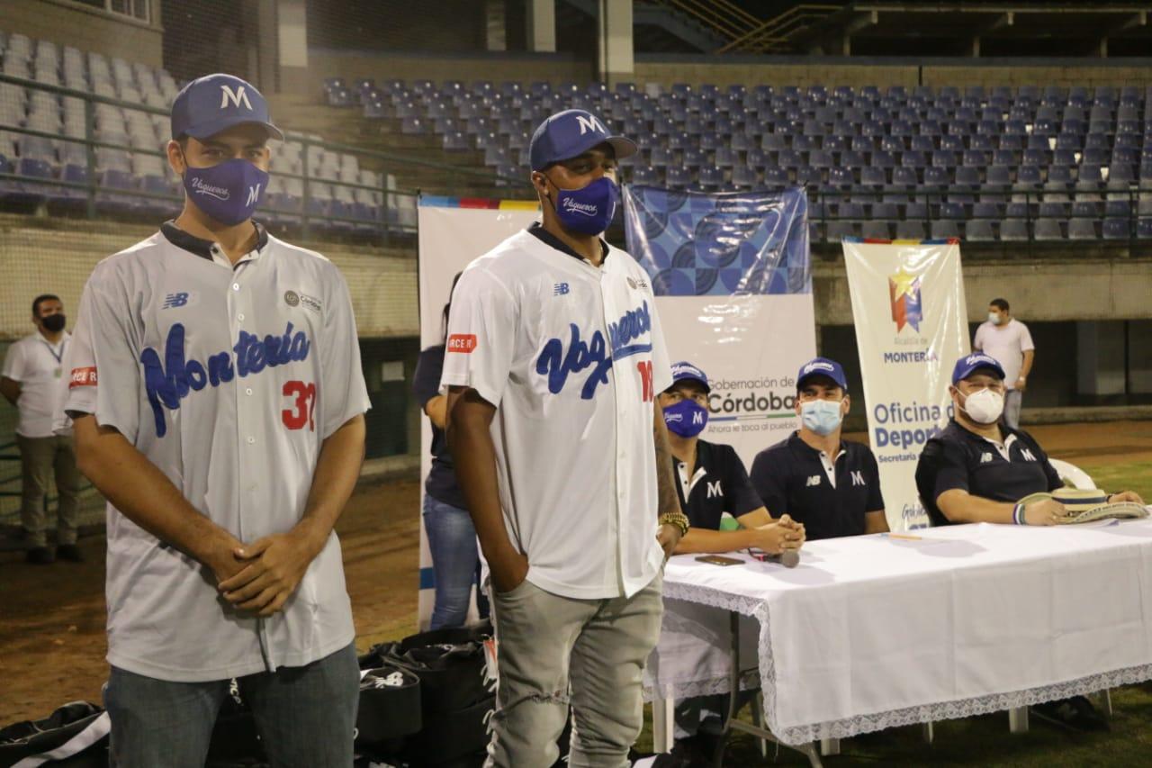Se realizó la presentación del equipo de béisbol de Montería 'Vaqueros'