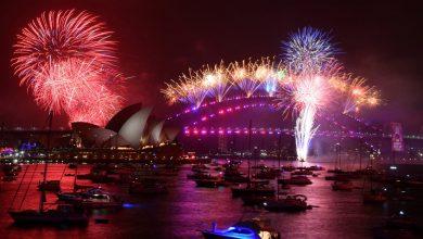 Así se vivió el Año Nuevo al otro lado del mundo