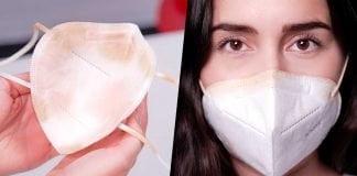 ¿Cómo evitar que el maquillaje manche el tapabocas?