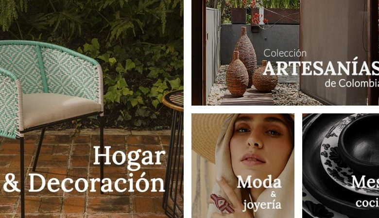 Conoce la nueva tienda digital de artesanos colombianos