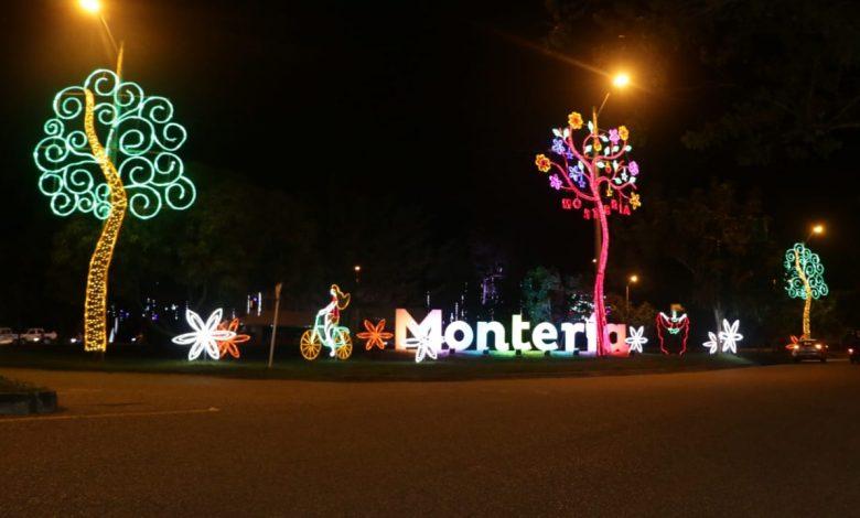 Hoy se apagarán las luces del alumbrado navideño en Montería
