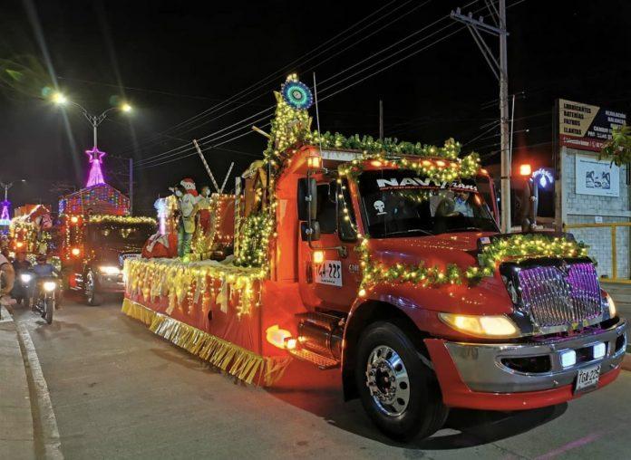 Inició la ruta de la 'Navidad de Esperanza' en Montería