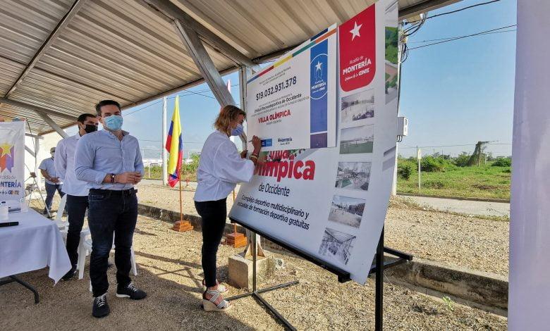 Firman convenio para construcción de la Villa Olímpica Occidental