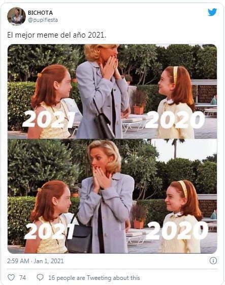 Los memes que dejó el Año Nuevo