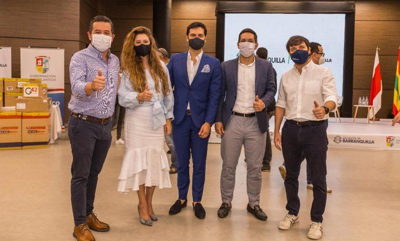 Montería recibió unidades de cuidados intermedios de Emiratos Árabes