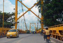 Se restringirá paso vehicular en el Puente Metálico