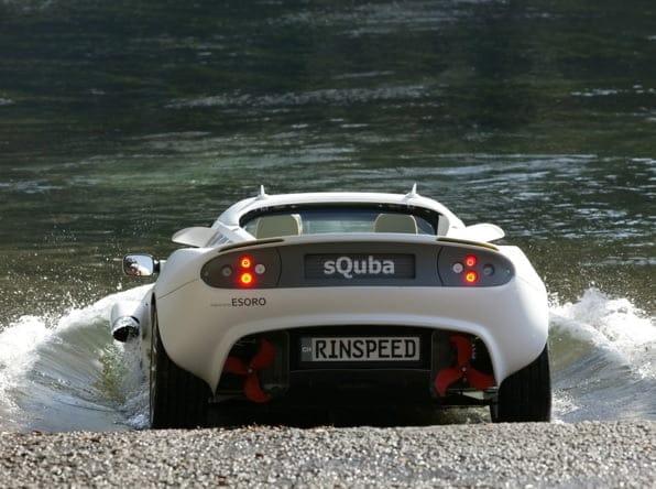 Conoce el SQuba, el primer auto submarino
