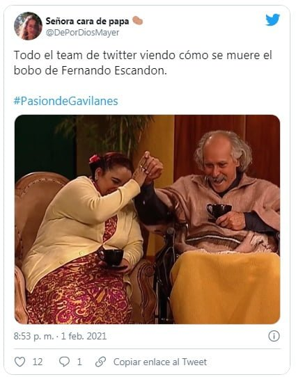 Los memes que dejó el final de Pasión de Gavilanes