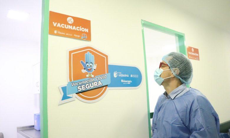 Montería tendrá 22 puntos para vacunación contra Covid19