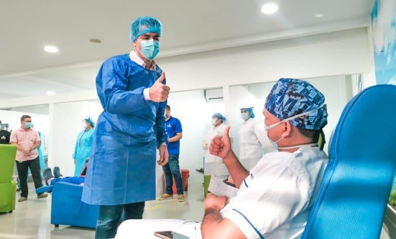 Terminó proceso de vacunación de las primeras dosis en la ESE Vidasinú