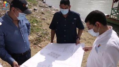 Verifican puntos donde se construirán embarcaderos de Businú