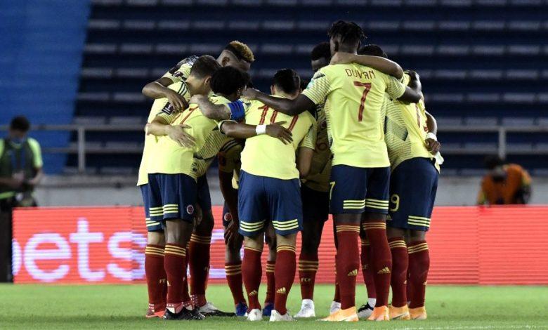 Calendario de Colombia en Copa América 2021