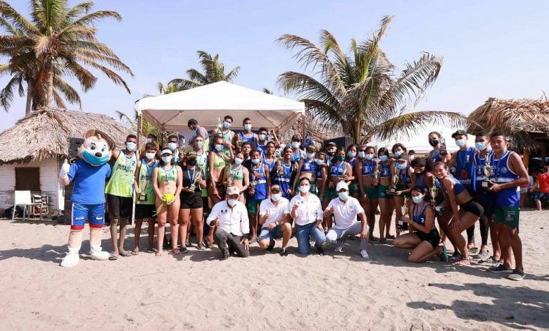 Córdoba logró 8 medallas en Circuito Nacional Regional de Voleibol Playa