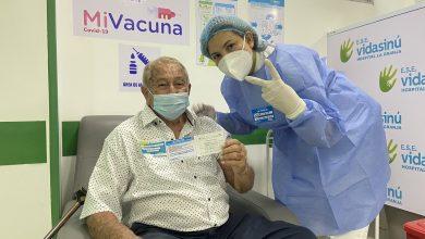 Pico y Cédula para vacunación a mayores de 80 años en Montería