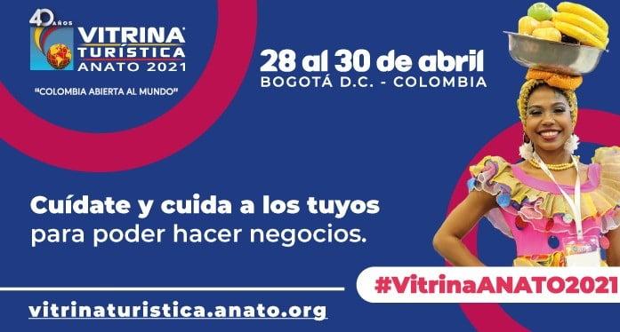Vitrina Turística de Anato se realizará virtual y presencial