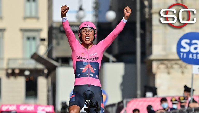 ¡Egan Bernal es el campeón del Giro de Italia!