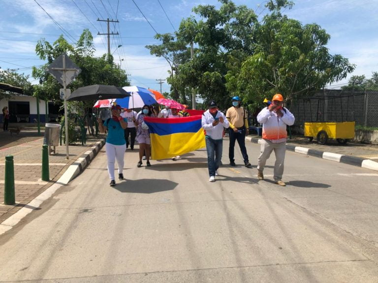 El día de hoy siguen las manifestaciones, se recomienda a los conductores tomar vías alternas