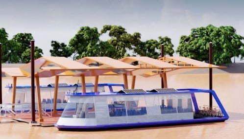Ya está en marcha Businú, el primer sistema de transporte fluvial del país