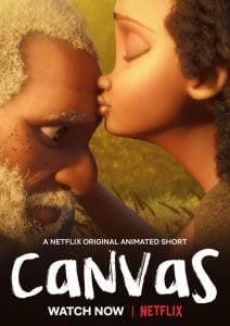 Otro cortometraje para toda la familia - Canvas: En solo 9 minutos, este cortometraje cuenta la historia de un afligido abuelo lucha por recuperar su pasión por la pintura tras sufrir una pérdida (duelo) y encuentra la inspiración para volver a crear.