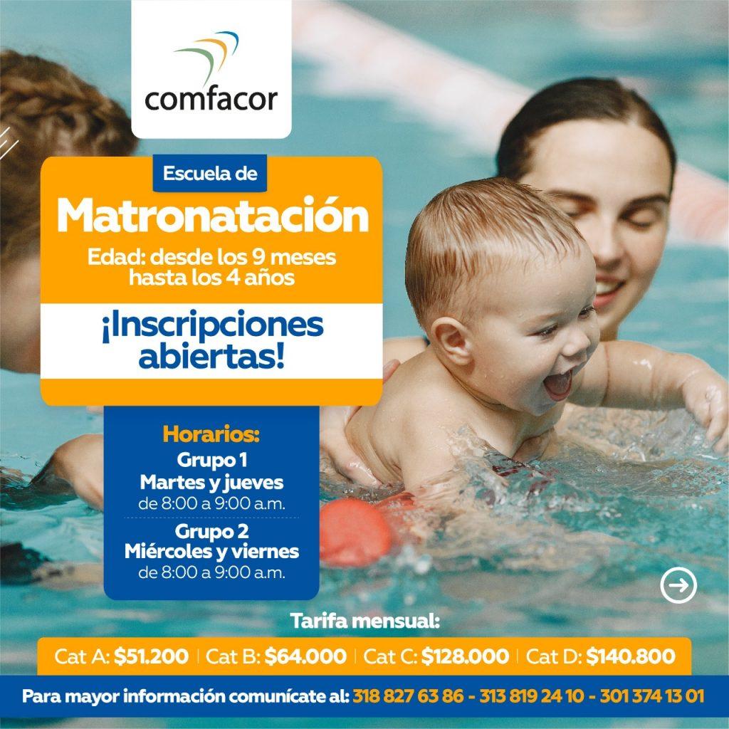 Todos los cursos de natación se desarrollarán en las instalaciones del Parque Recreacional Tacasuán, en distintos horarios y grupos, todo esto para respetar el aforo y demás protocolos de bioseguridad.