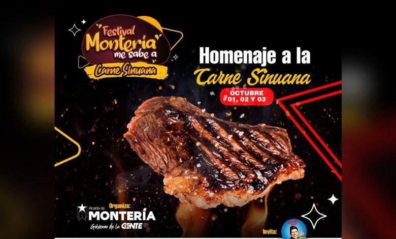 Del 1 al 3 de octubre la capital cordobesa se convertirá en una fiesta gastronómica con el festival 'Montería me sabe a carne'. Se trata de un evento que tiene por objetivo hacer gala de la calidad con la que se puede degustareste rubro en la ciudad, caracterizada por su industria ganadera.