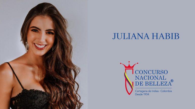 ¿Tendremos reina este año? La Señorita Córdoba, Juliana Habib, se está robando todas las miradas en el Concurso Nacional de Belleza