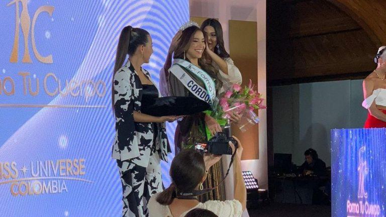 En el Miss Universe Colombia, Córdoba se quedó con los títulos de Miss Simpatía y Miss Cuerpo Fit
