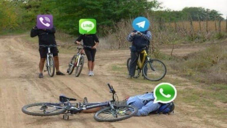 ¿Qué pasa si WhatsApp 'se cae otra vez'? Conoce otras redes de mensajería instantánea que hoy tienen mucho éxito en el mundo