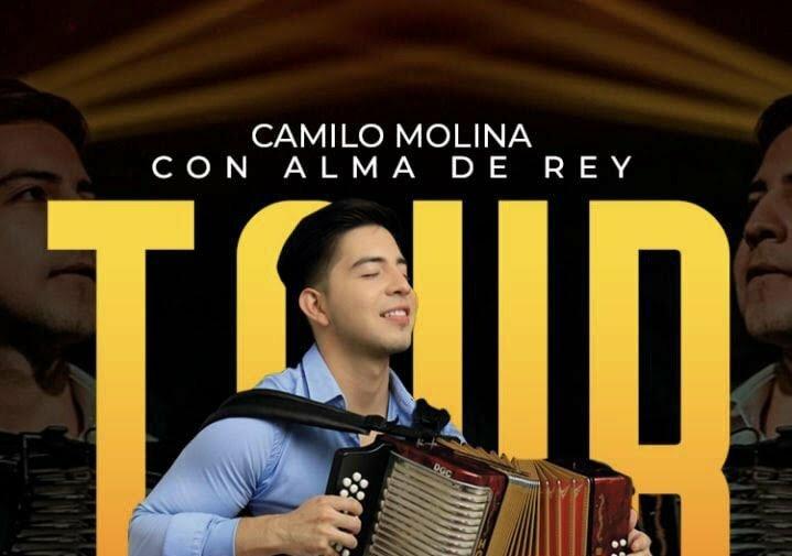 Camilo Molina, el acordeonero que representa a Montería en Europa